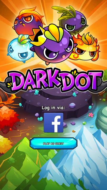 androidアプリ ダークドット(Dark Dot)攻略スクリーンショット1