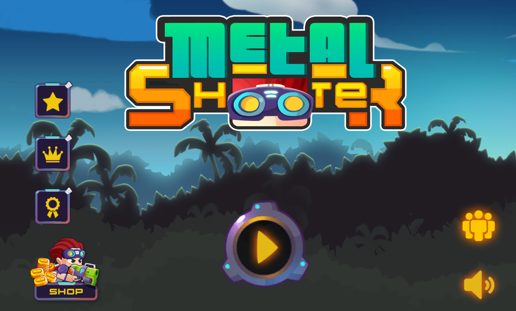 androidアプリ Metal Shooter: Run and Gun攻略スクリーンショット1