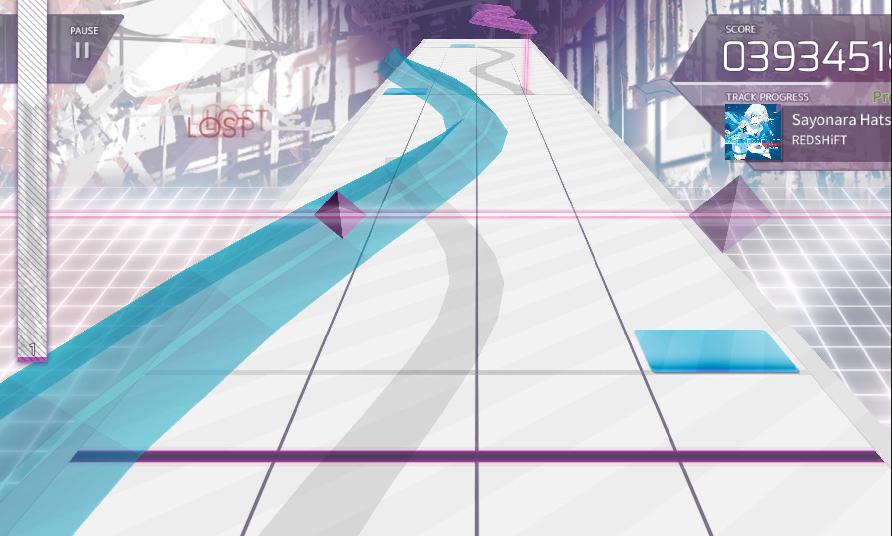 Arcaea androidアプリスクリーンショット1