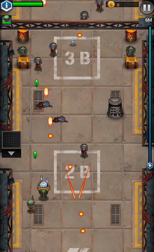 androidアプリ Jackals: Clash mission攻略スクリーンショット2