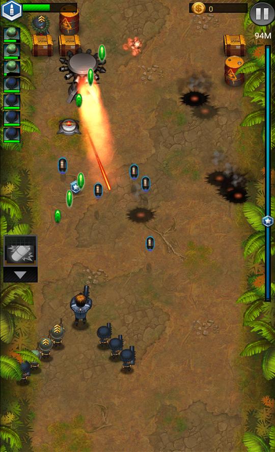 androidアプリ Jackals: Clash mission攻略スクリーンショット4