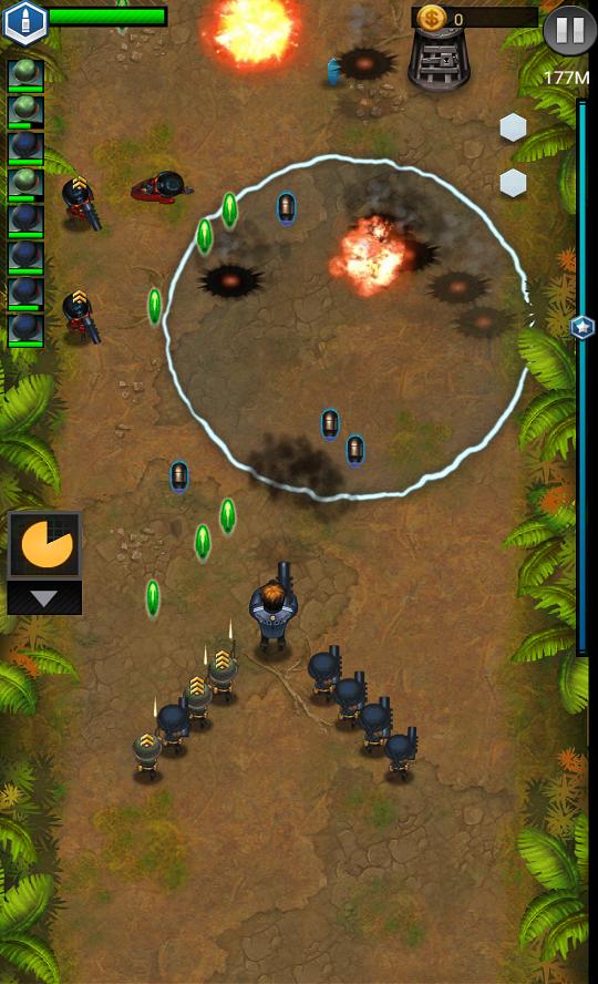 androidアプリ Jackals: Clash mission攻略スクリーンショット5