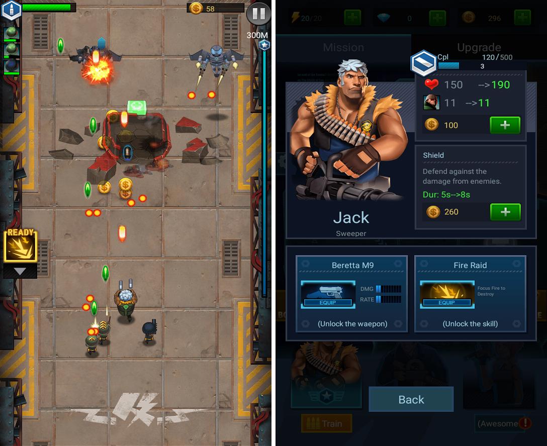 Jackals: Clash mission androidアプリスクリーンショット1