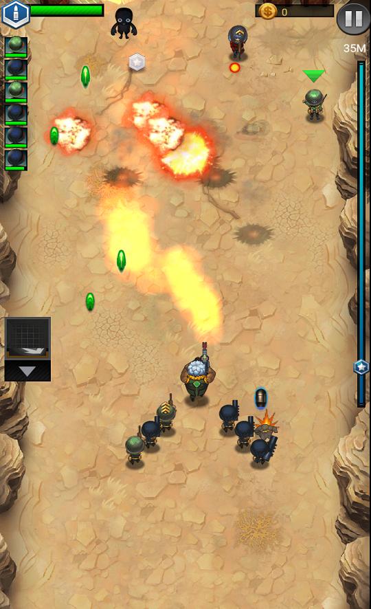 Jackals: Clash mission androidアプリスクリーンショット2