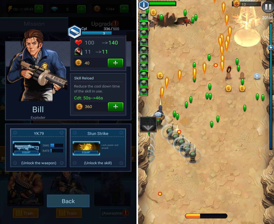 Jackals: Clash mission androidアプリスクリーンショット3