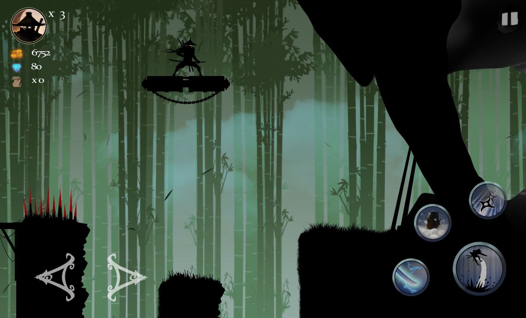 Ninja Arashi androidアプリスクリーンショット1
