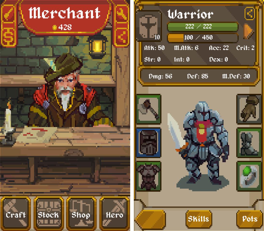 Merchant RPG androidアプリスクリーンショット1
