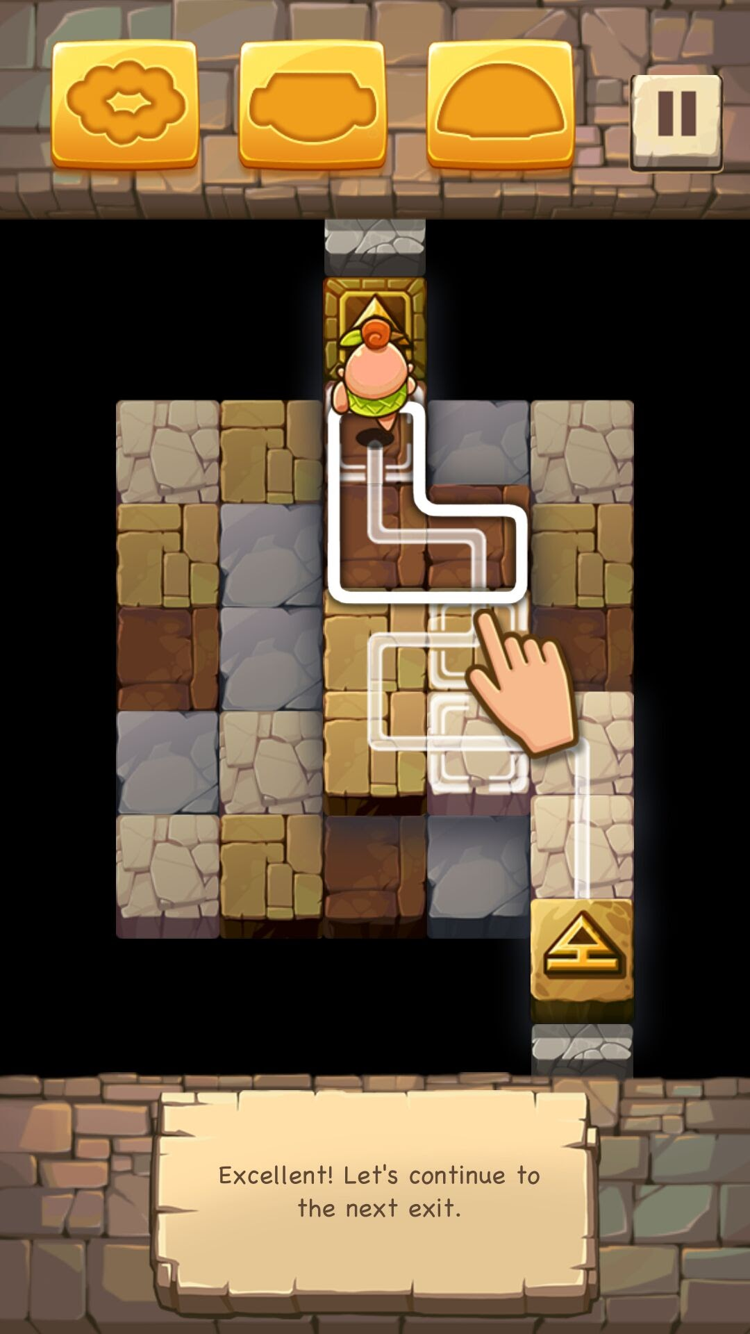 androidアプリ Caveboy GO攻略スクリーンショット1