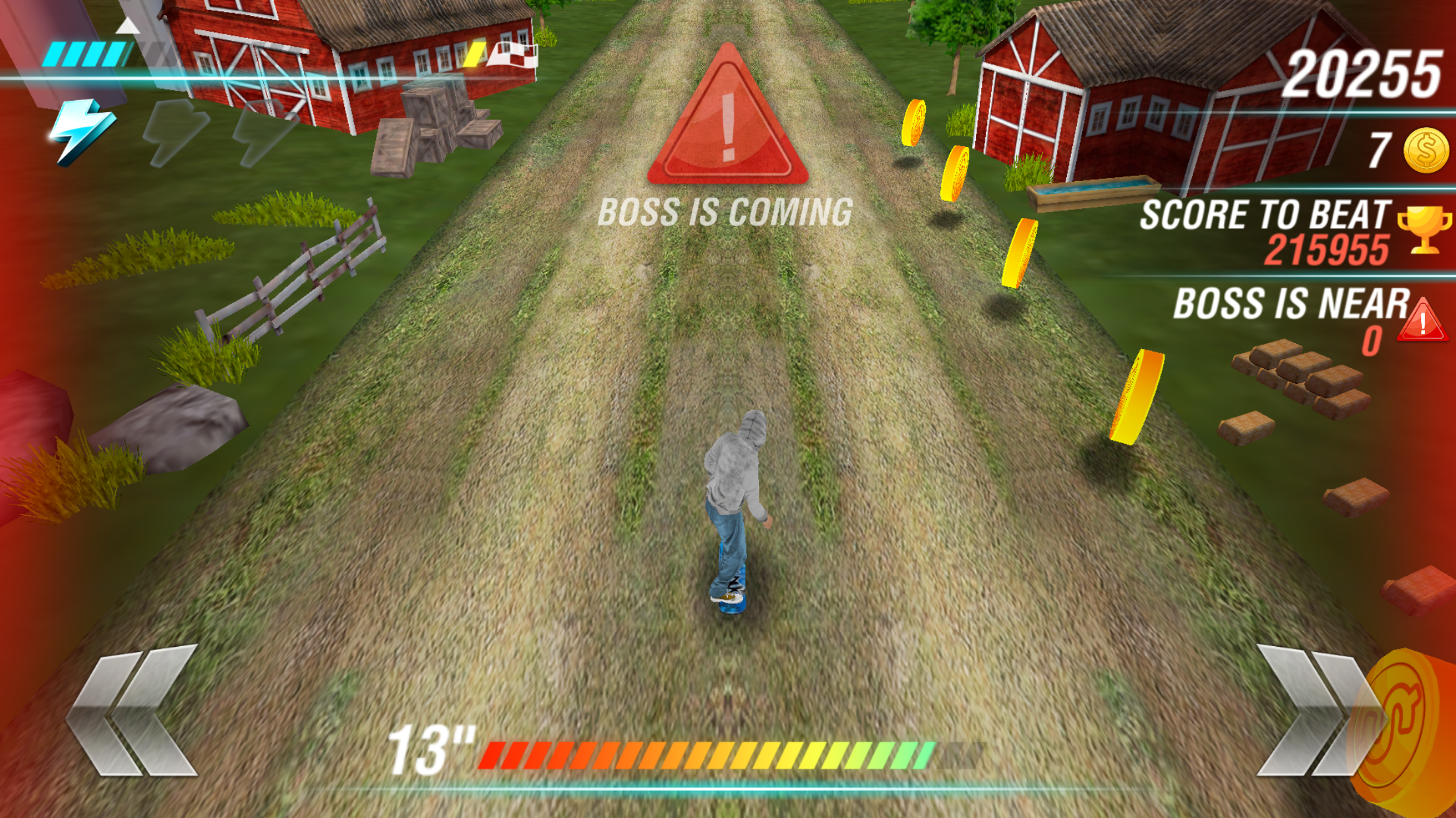 androidアプリ リアル スケートボード ヒーロー Real Skate Racing 3D攻略スクリーンショット3