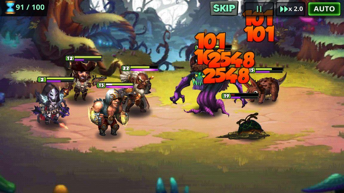 スーパー・ヴィラン・ウォー(Super Villain War: Lost Heroes) androidアプリスクリーンショット1