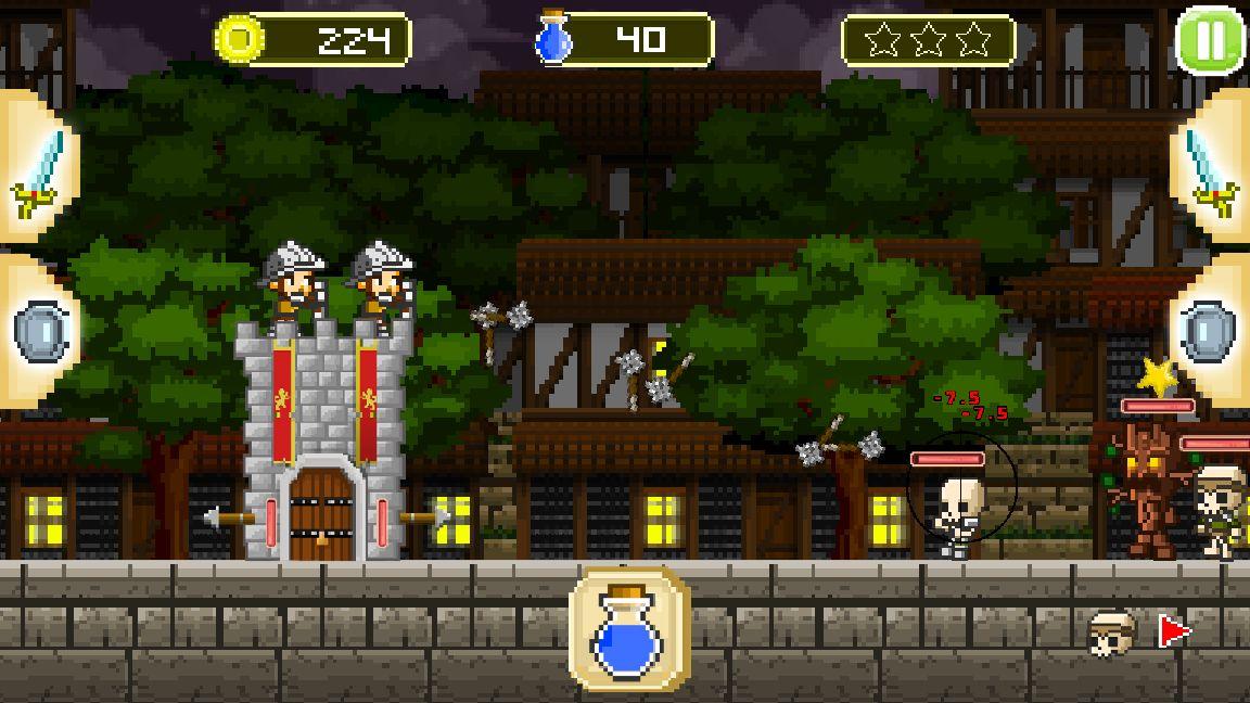 レトロディフェンダーズ(Retro Defenders : Towers' War) androidアプリスクリーンショット1