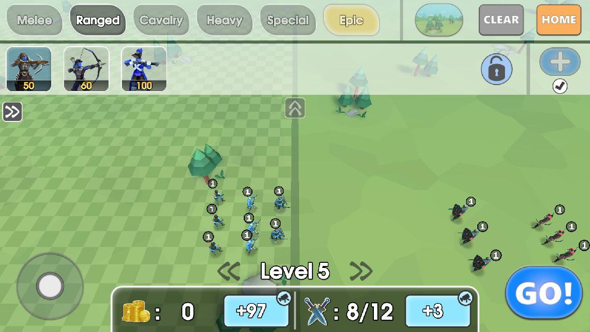 Epic Battle Simulator 2 androidアプリスクリーンショット1