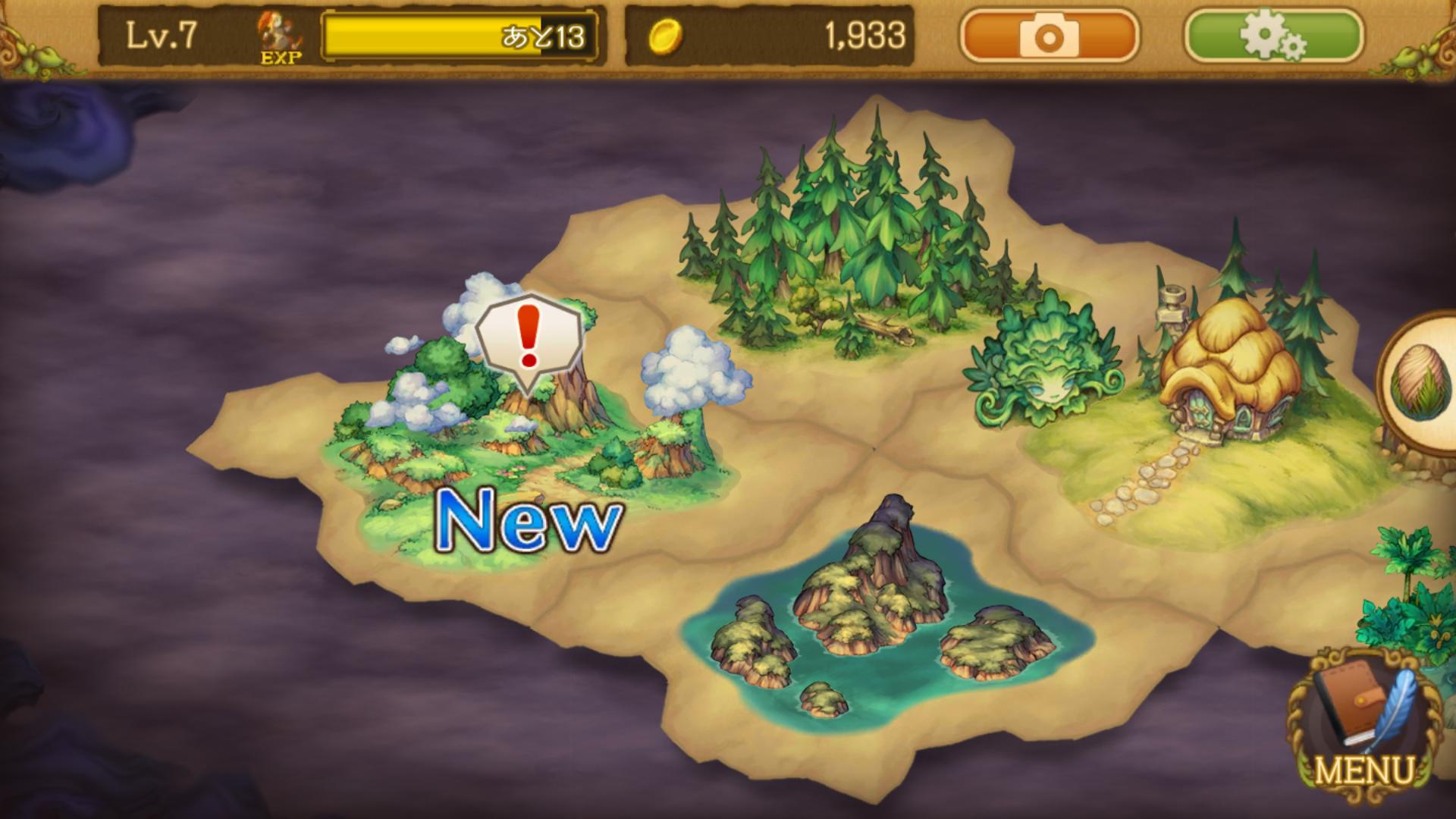 EGGLIA~赤いぼうしの伝説~(エグリア) androidアプリスクリーンショット3