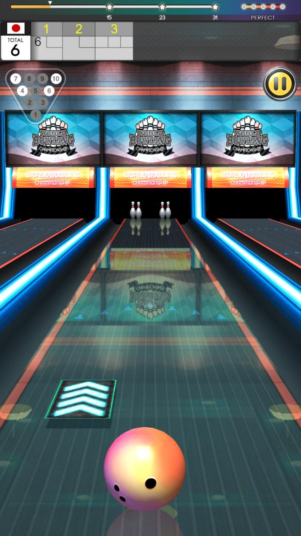 ワールドボウリングチャンピオンシップ androidアプリスクリーンショット2