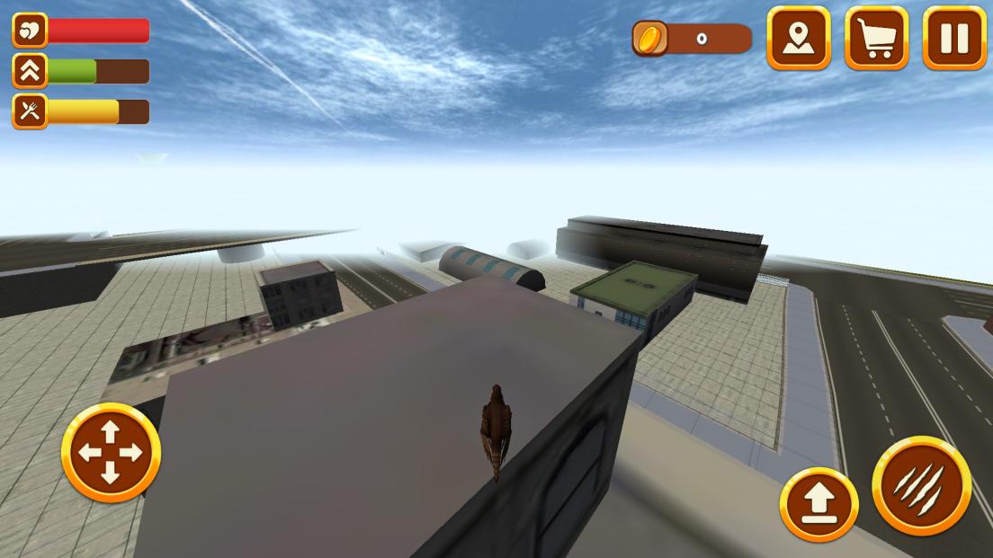 シティファルコンシミュレータ3D:バード・ワイルド・ライフ androidアプリスクリーンショット2