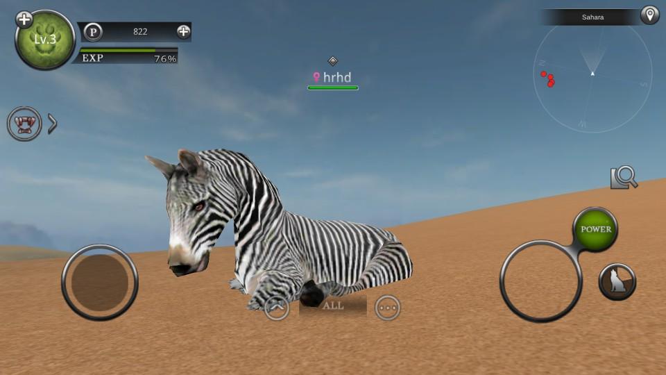 androidアプリ Wild Animals Online(ワイルドアニマル オンライン)攻略スクリーンショット3
