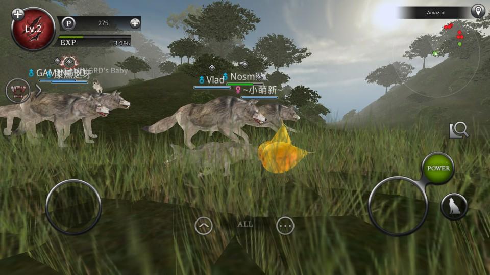 androidアプリ Wild Animals Online(ワイルドアニマル オンライン)攻略スクリーンショット4