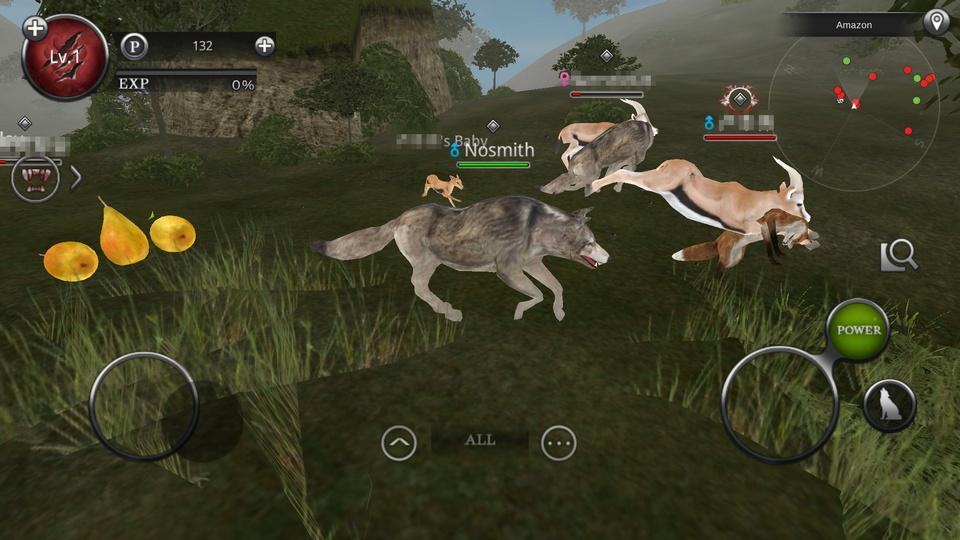 Wild Animals Online(ワイルドアニマル オンライン) androidアプリスクリーンショット1