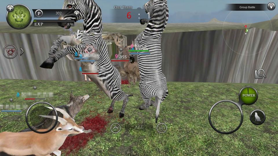 Wild Animals Online(ワイルドアニマル オンライン) androidアプリスクリーンショット2