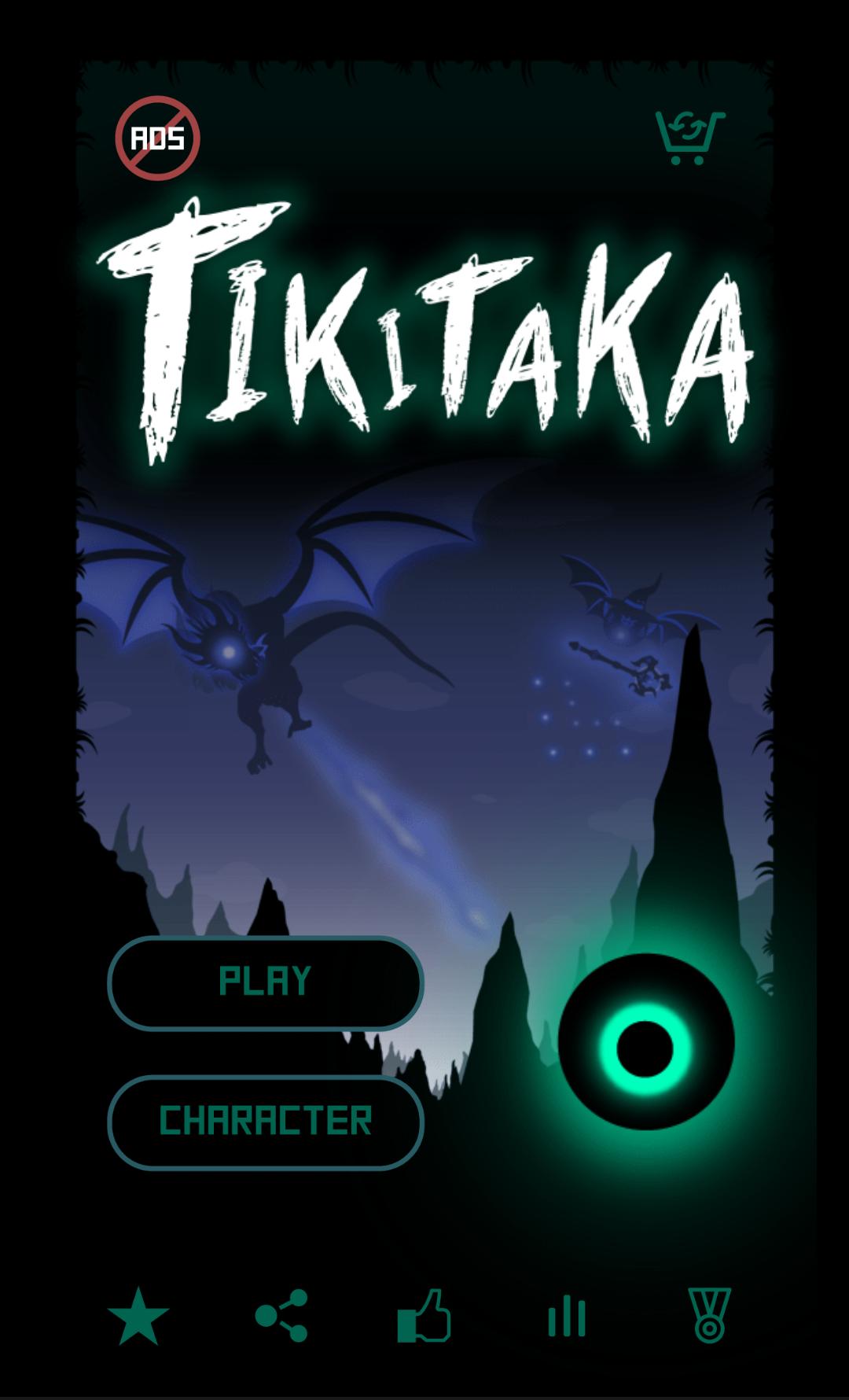 androidアプリ TiKiTaKa!攻略スクリーンショット1