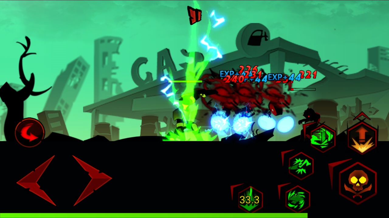 ゾンビ・アベンジャーズ:スティックマン(Zombie Avengers:Stickman) androidアプリスクリーンショット1