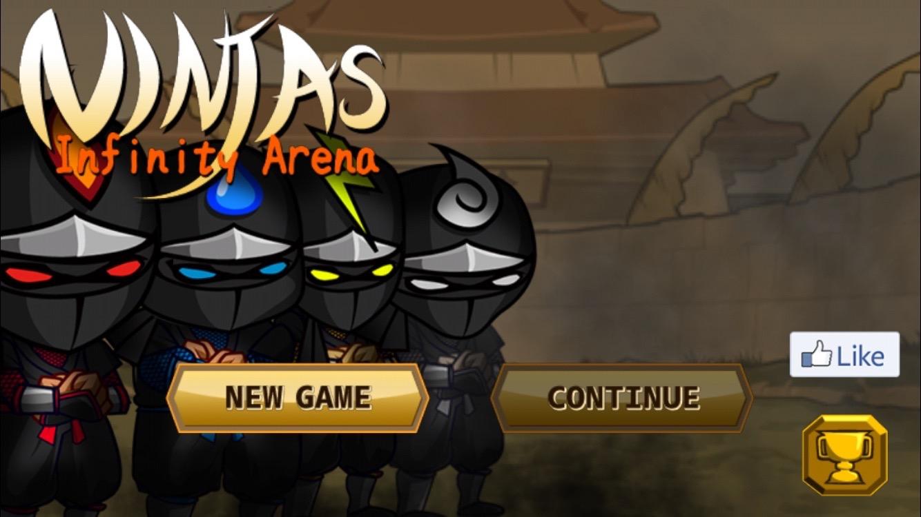 androidアプリ Ninjas Infinity攻略スクリーンショット1