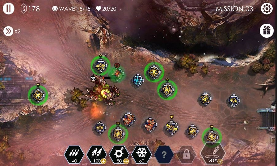 androidアプリ Tower Defense - Invasion TD攻略スクリーンショット8