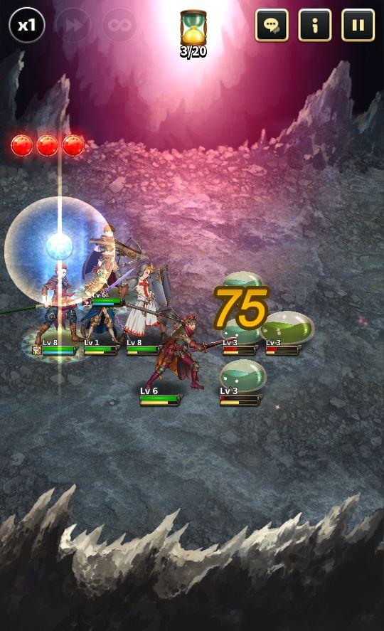 androidアプリ ワールド オブ タクティクス(World of Tactics)攻略スクリーンショット2