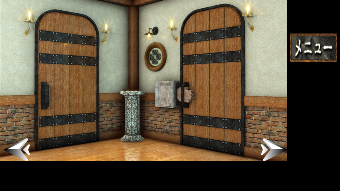androidアプリ 脱出ゲーム 犬と石像の部屋攻略スクリーンショット3