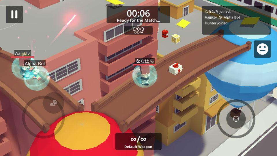 androidアプリ シティウォッチ~ランブルマスターズ攻略スクリーンショット1