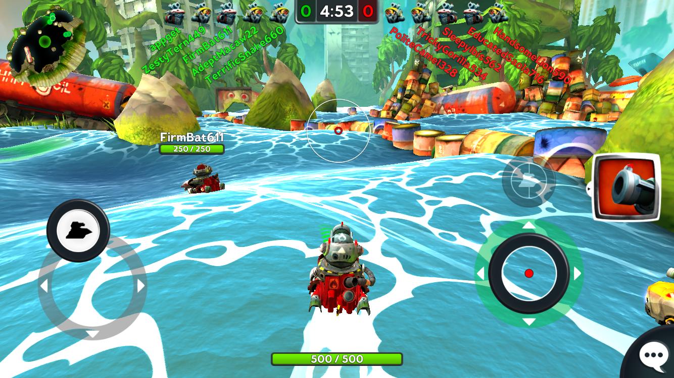 androidアプリ バトル ベイ(Battle Bay)攻略スクリーンショット3