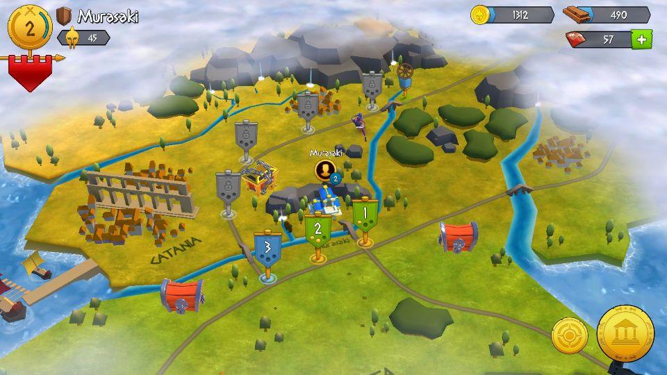 androidアプリ Gladiator Heroes攻略スクリーンショット5