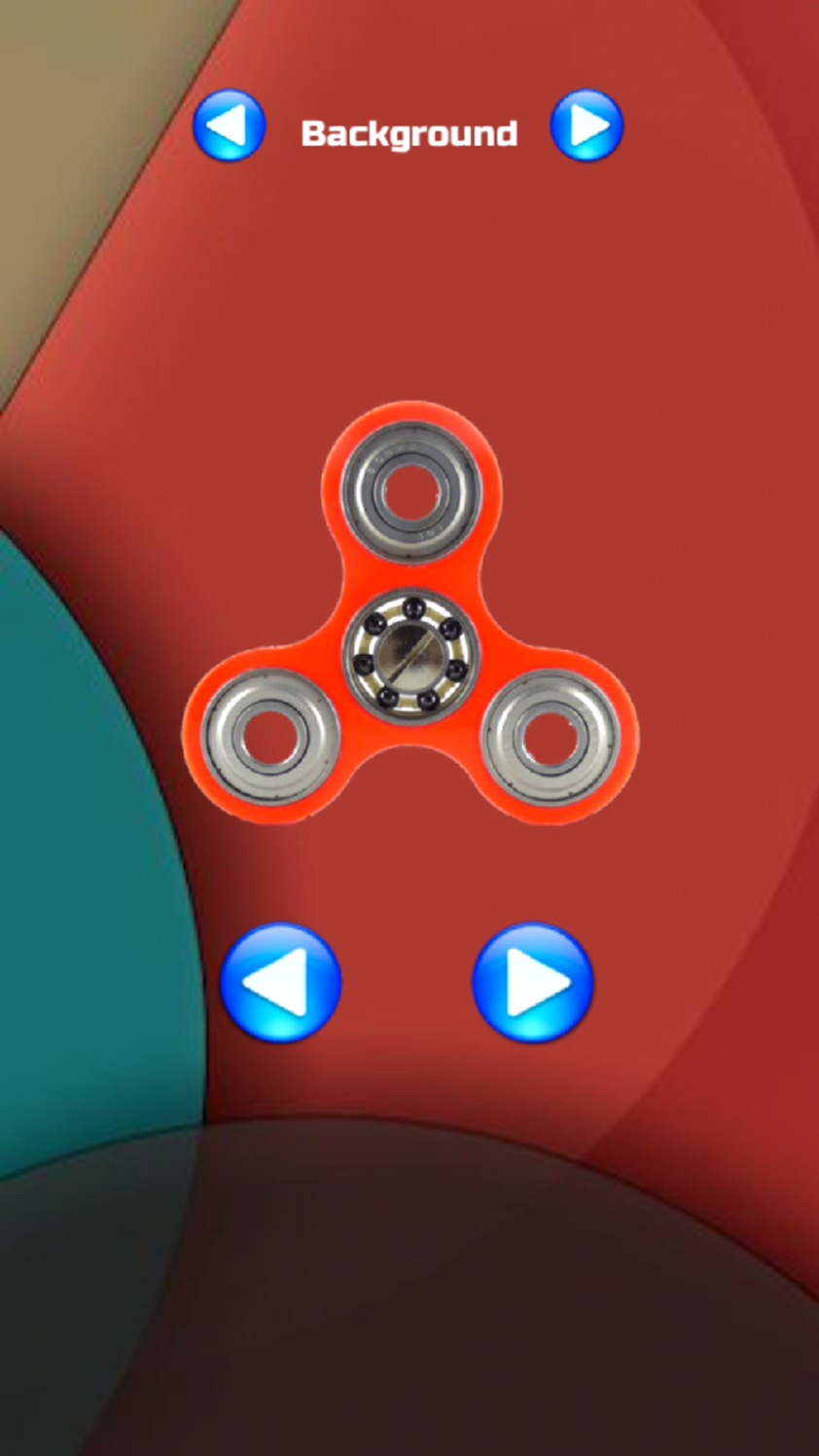 androidアプリ Fidget Hand Spinner!攻略スクリーンショット1