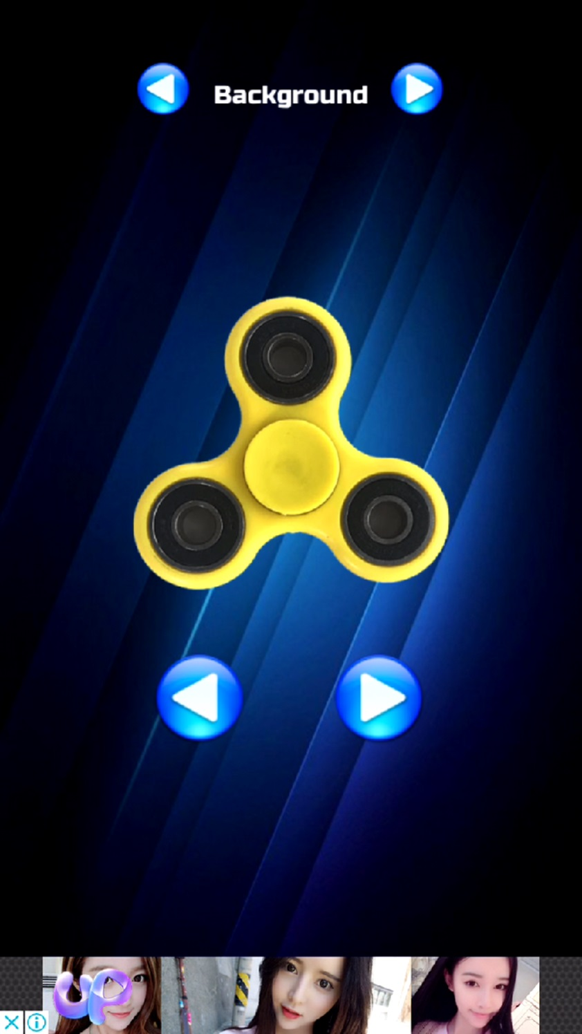 androidアプリ Fidget Hand Spinner!攻略スクリーンショット5
