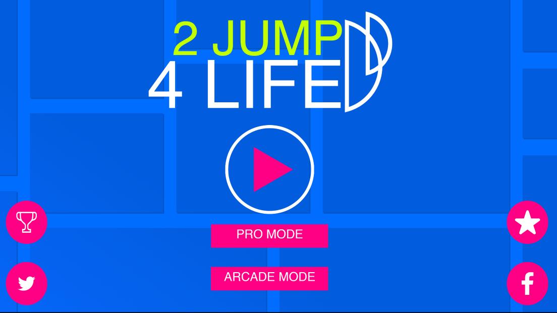 androidアプリ 2段ジャンプマン攻略スクリーンショット1