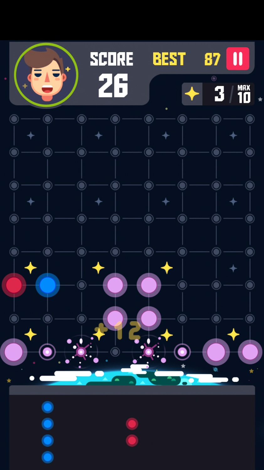 androidアプリ Planet Block Puzzle攻略スクリーンショット2