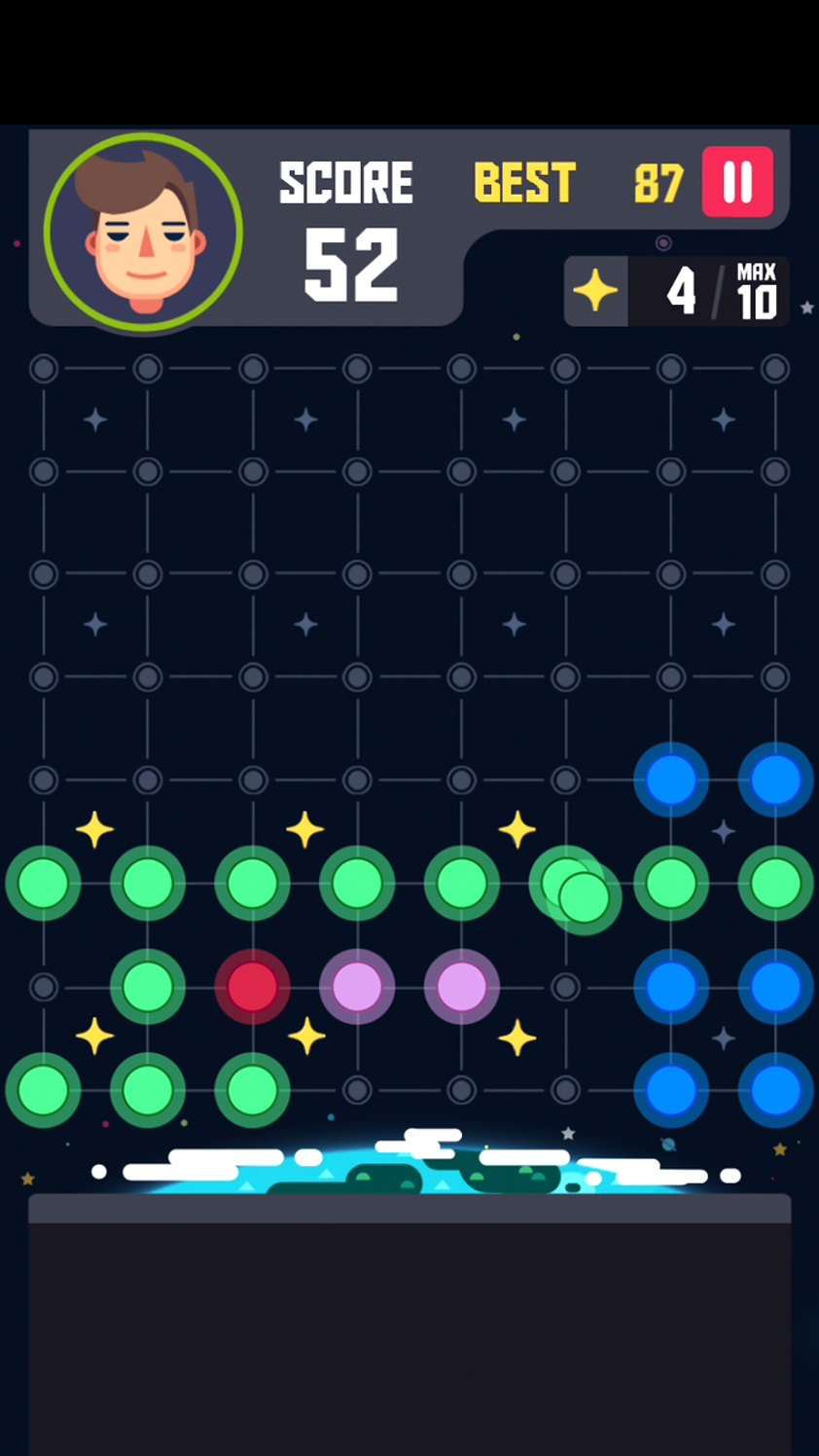 androidアプリ Planet Block Puzzle攻略スクリーンショット3