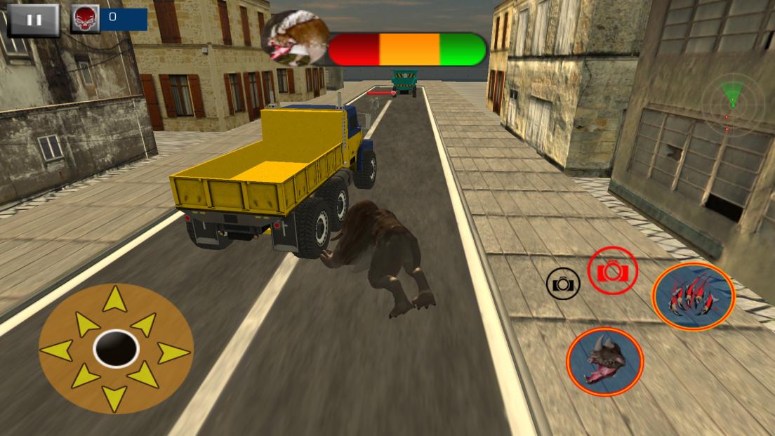Angry Monster Simulator 2017:ジャイアントビースト androidアプリスクリーンショット3