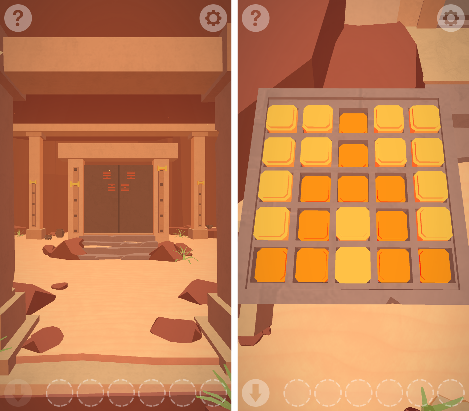 Faraway: Puzzle Escape androidアプリスクリーンショット1
