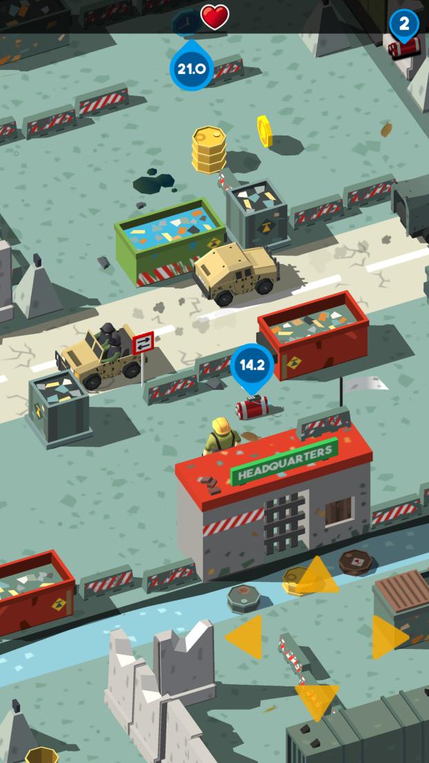 androidアプリ Bomb Hunters攻略スクリーンショット5