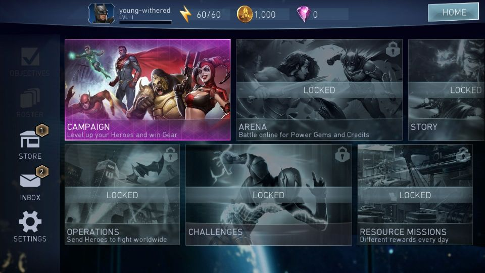 androidアプリ Injustice 2攻略スクリーンショット2