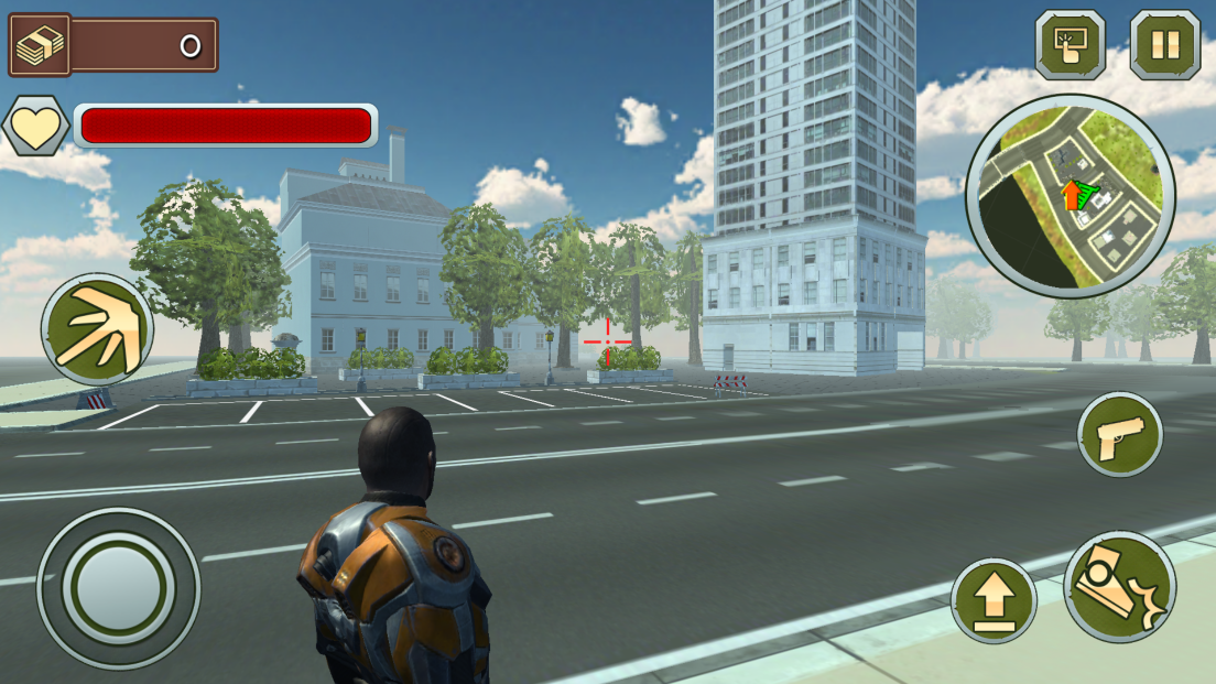 androidアプリ ロープマン:エクストリームタウン攻略スクリーンショット2