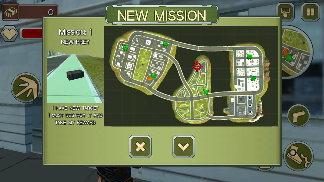 androidアプリ ロープマン:エクストリームタウン攻略スクリーンショット3