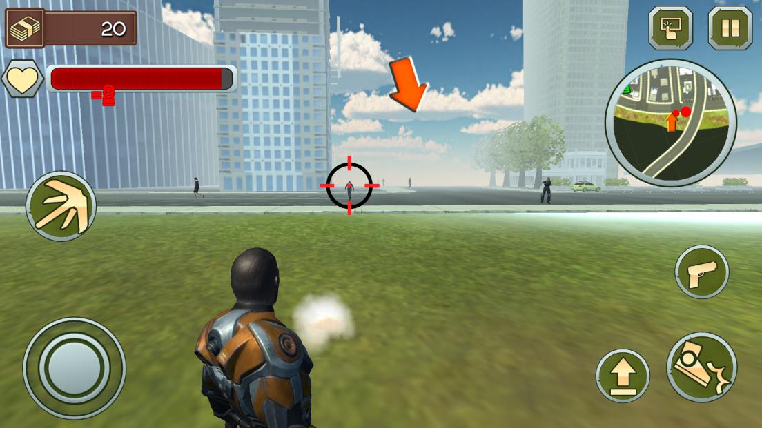 ロープマン:エクストリームタウン androidアプリスクリーンショット3