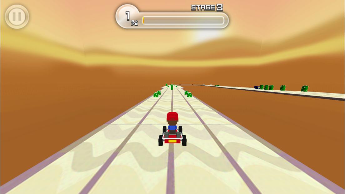 スーパーカートGP androidアプリスクリーンショット1