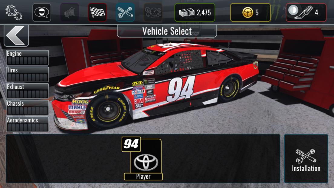 androidアプリ NASCAR Heat Mobile攻略スクリーンショット5