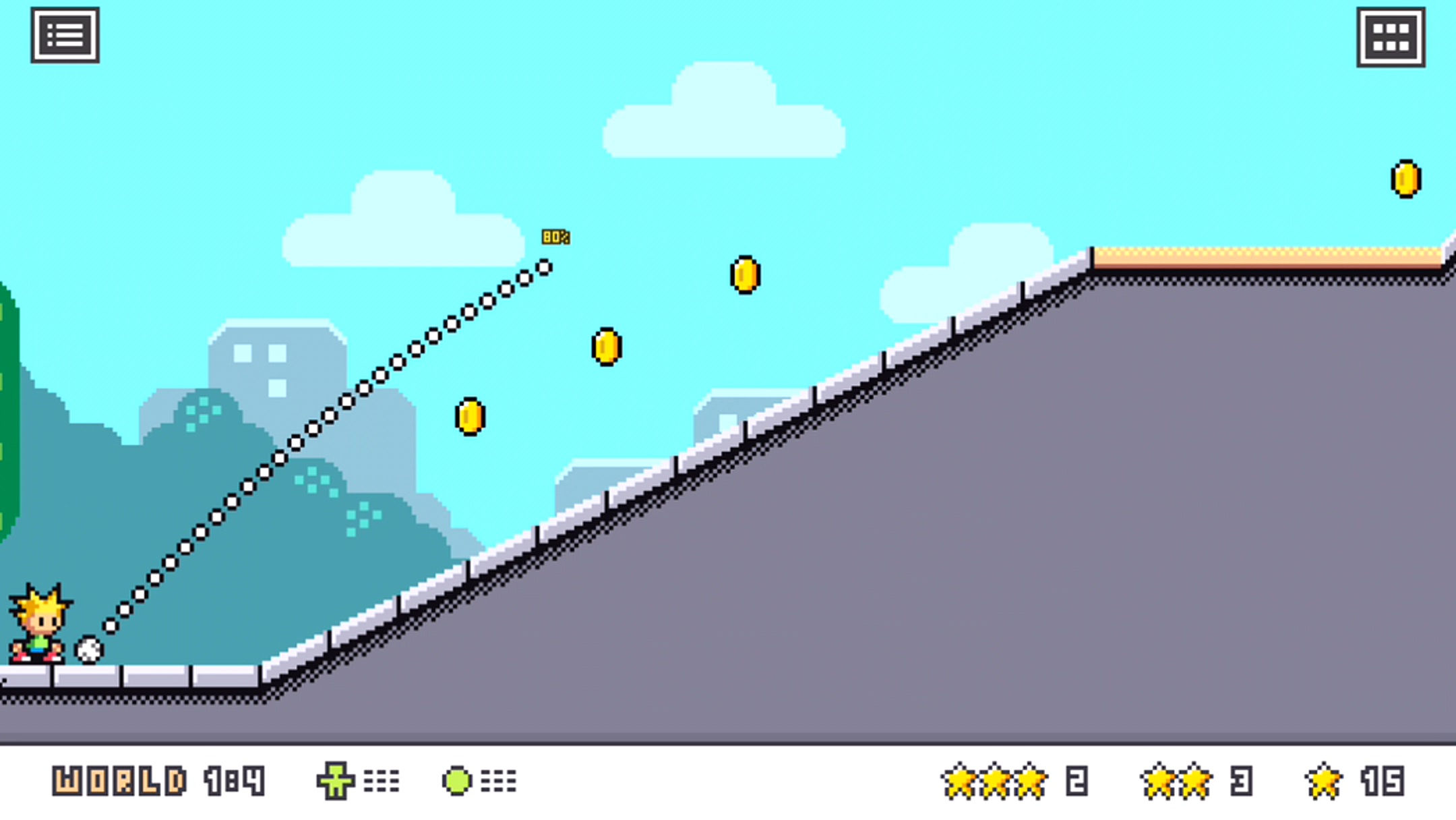 androidアプリ Footy Golf攻略スクリーンショット3