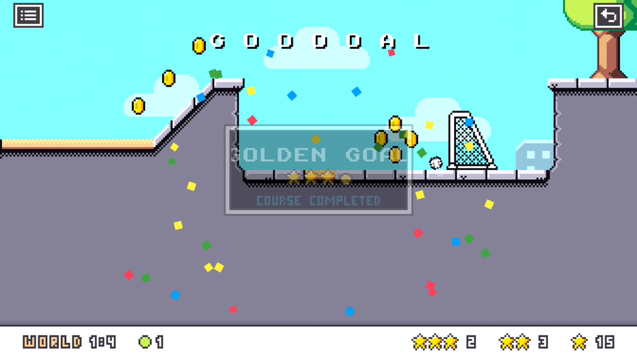 androidアプリ Footy Golf攻略スクリーンショット4