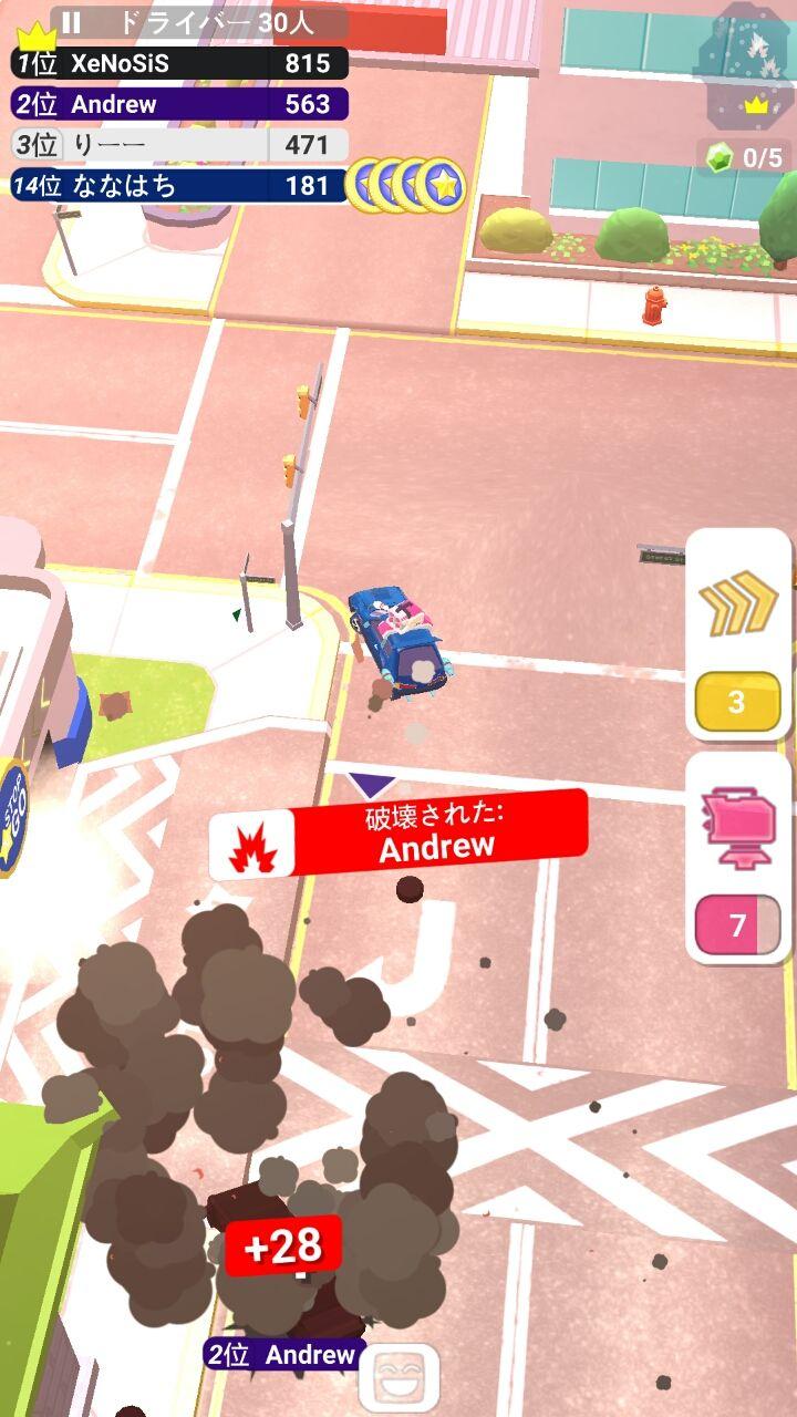 androidアプリ クラッシュクラブ(Crash Club)攻略スクリーンショット4