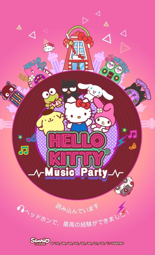 androidアプリ Hello Kitty Music Party攻略スクリーンショット1